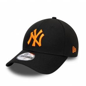 Casquette New Era New York Yankees 9forty Noir / Orange