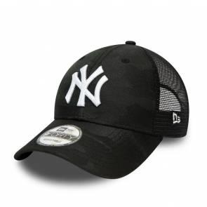 Casquette New Era New York Yankees Home Field Trucker Noir Camo / Blanc