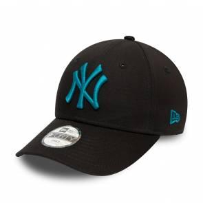 Casquette New Era New York Yankees 9forty Noir / Bleu Enfant
