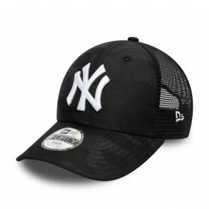 Casquette New Era New York Yankees Home Field Trucker Noir Camo / Blanc Enfant