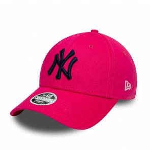Casquette New Era New York Yankees 9forty Rose Femme