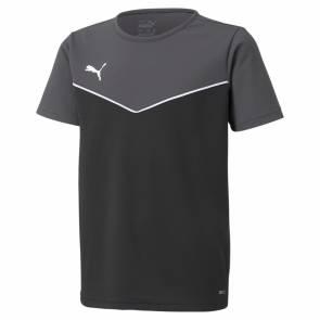 T-shirt Puma Rise Jersey Gris / Noir Enfant