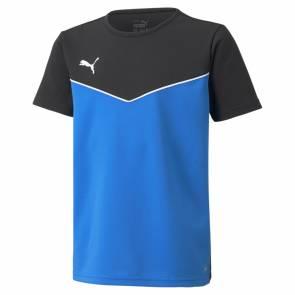 T-shirt Puma Rise Jersey Bleu / Noir Enfant