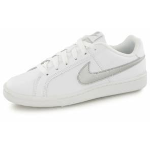 Nike Court Royale Blanc / Argent