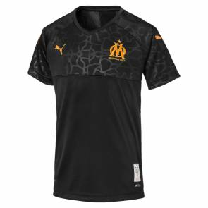 Maillot Puma Om Third 2019-20 Noir Junior