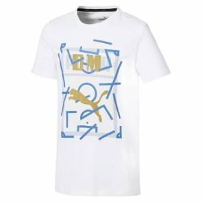 T-shirt Puma Om Graphic Blanc Junior