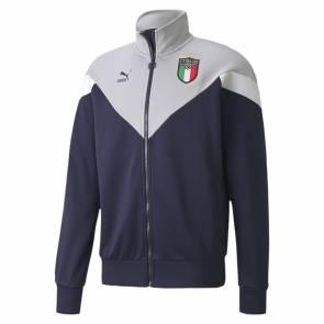 Veste Puma Italie Iconic Gris / Bleu