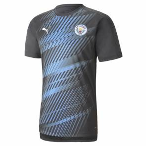 Maillot Puma Manchester City Traiing 2019-20 Gris / Bleu