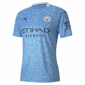 Maillot Puma Manchester City Domicile 2020-21 Bleu