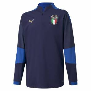 Training Top Puma Italie Bleu Enfant
