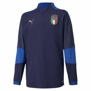 Training Top Puma Italie Bleu Enfant