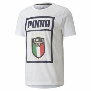 T-shirt Puma Italie Dna Blanc