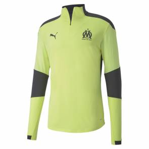 Training Top Puma Om Training 2020-21 Jaune / Noir