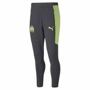 Pantalon Puma Om Training 2020-21 Gris / Jaune