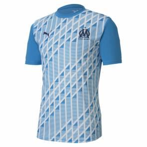 Maillot Puma Om Training 2020-21 Bleu