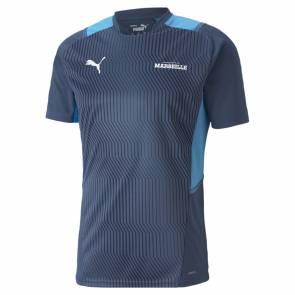 Maillot Puma Om Training 2021-22 Bleu