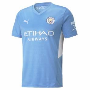 Maillot Puma Manchester City Domicile 2021-22 Bleu