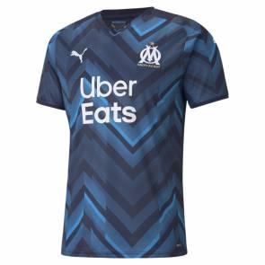 Maillot Puma Om Exterieur 2021-22 Bleu