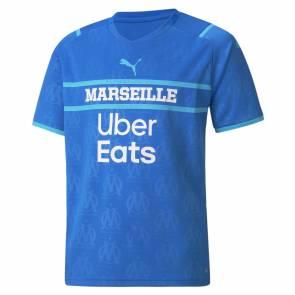 Maillot Puma Om Third 2021-22 Bleu Enfant