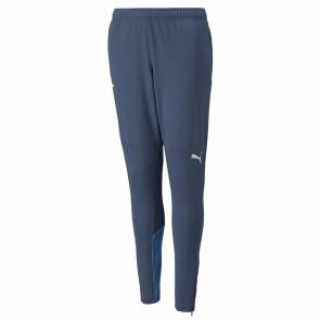 Pantalon Puma Om Training 2021-22 Bleu Enfant