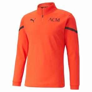 Training Top Puma Milan Ac Prematch 2021-22 Orange