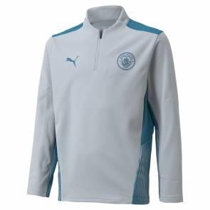Training Top Puma Manchester City Training 2021-22 Gris Enfant