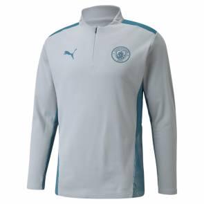 Training Top Puma Manchester City 2021-22 Gris