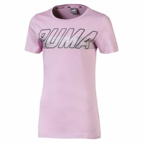 T-shirt Puma Alpha Logo Rose Junior