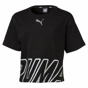 T-shirt Puma Alpha Noir Junior