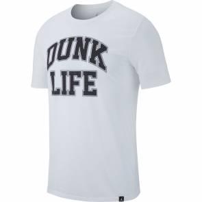 T-shirt Nike Rise Basketball Blanc / Noir