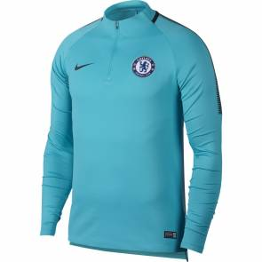 Training top Nike Chelsea 2017-18 Bleu