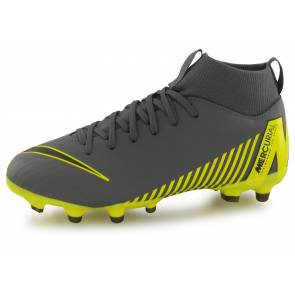 Nike Superfly 6 Academy Fg/mg Gris / Jaune Junior