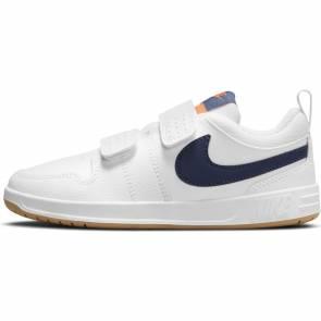 Nike Pico 5 Blanc / Bleu Enfant