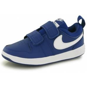 Nike Pico 5 Bleu / Blanc Enfant