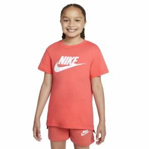 T-shirt Nike Sportswear Orange Fille