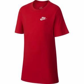 T-shirt Nike Sportswear Rouge Enfant