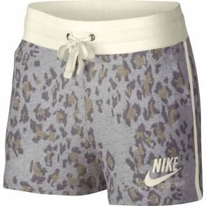 Short Nike Sportswear Gym Vintage Gris Leopard