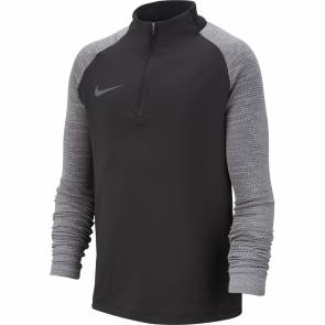 Training Top Nike Dri-fit Strike Noir / Gris Junior