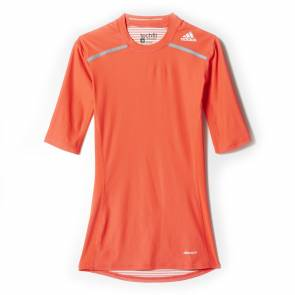 T-shirt Adidas Techfit Chill Orange