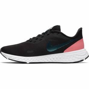 Nike Revolution 5 Noir / Rose Femme