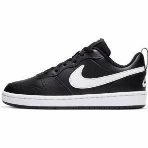 Nike Court Borough Low 2 Noir / Blanc Enfant