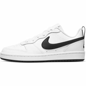 Nike Court Borough Low 2 Blanc / Noir Enfant