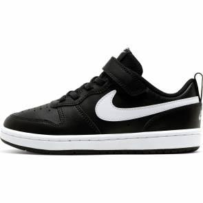 Nike Court Borough Noir / Blanc Enfant