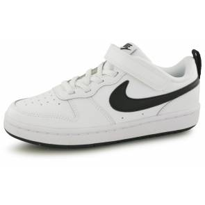 Nike Court Borough Blanc / Noir Enfant