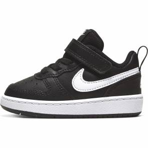 Nike Court Borough Low 2 Noir / Blanc Bebe