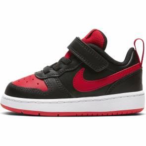Nike Court Borough Low 2 Noir / Rouge Bebe