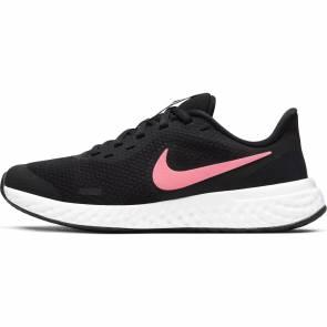 Nike Revolution 5 Noir / Blanc / Rose Fille