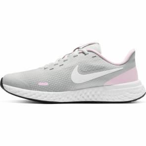 Nike Revolution 5 Gris / Rose Fille