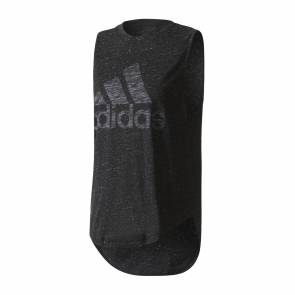 T-shirt Adidas Winner Muscle Noir