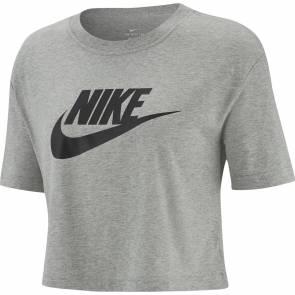 T-shirt Nike Sportswear Essential Gris Femme